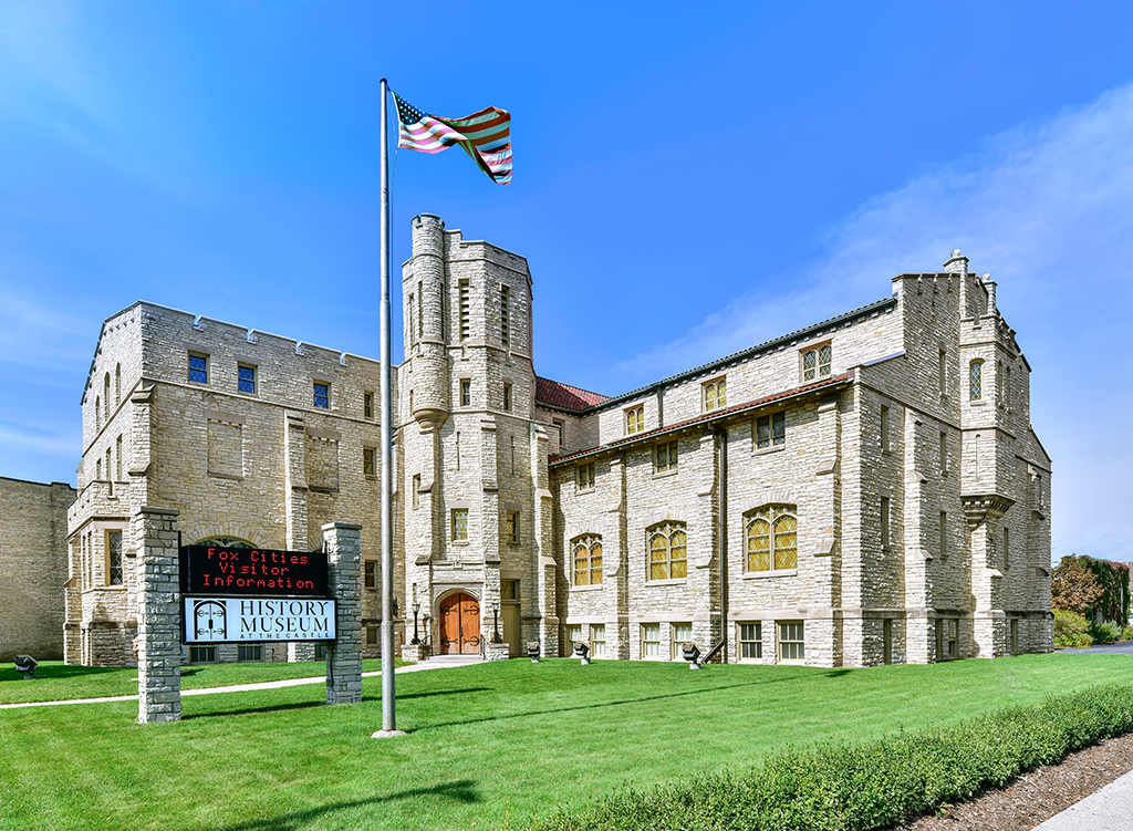 History Museum at the Castle. Appleton, Wisconsin.