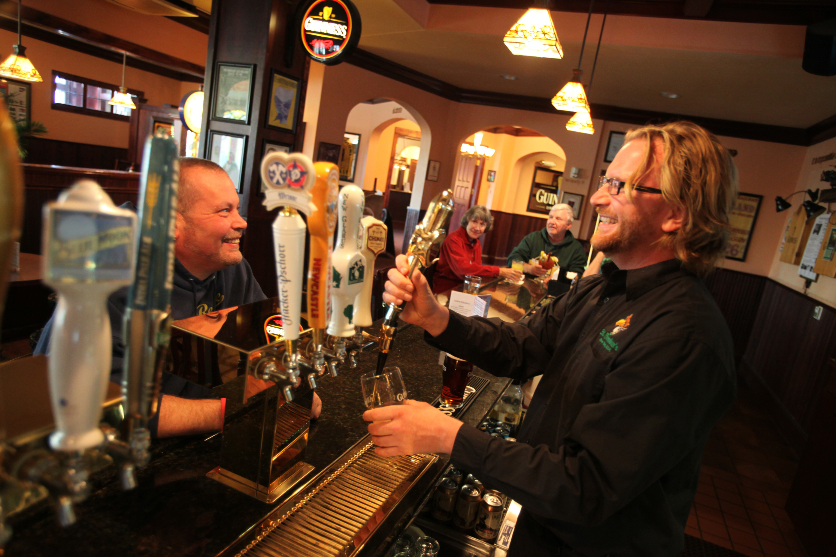 St. Brendan's Inn bar. Green Bay, Wisconsin.