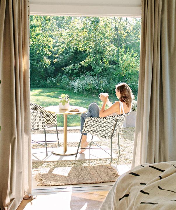 Pfeiffer master bedroom patio