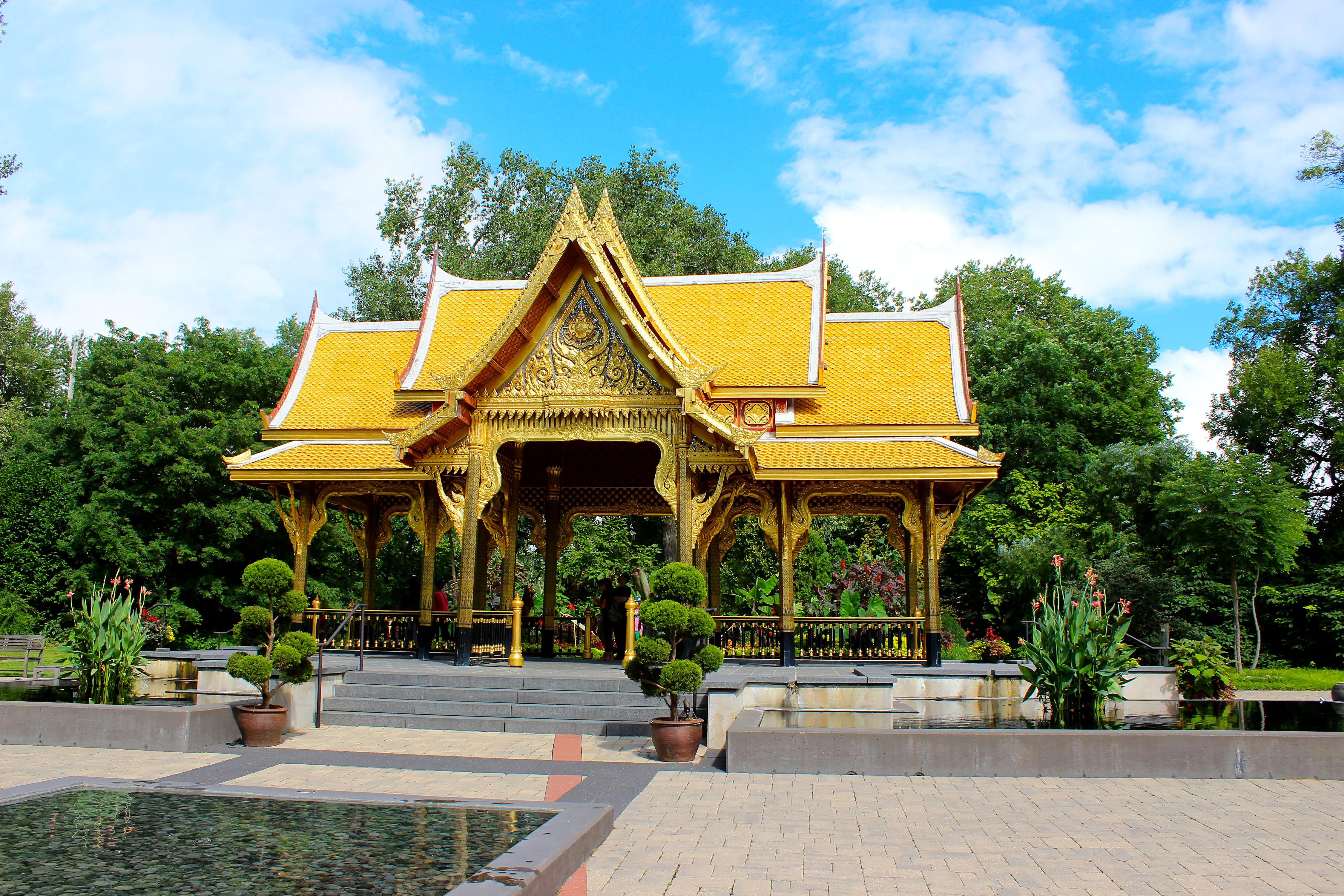 Thai Pavilion at Olbrich Botanical Gardens