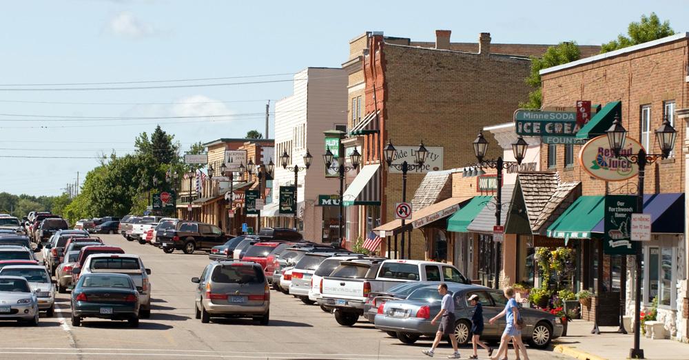 Park Rapids downtown