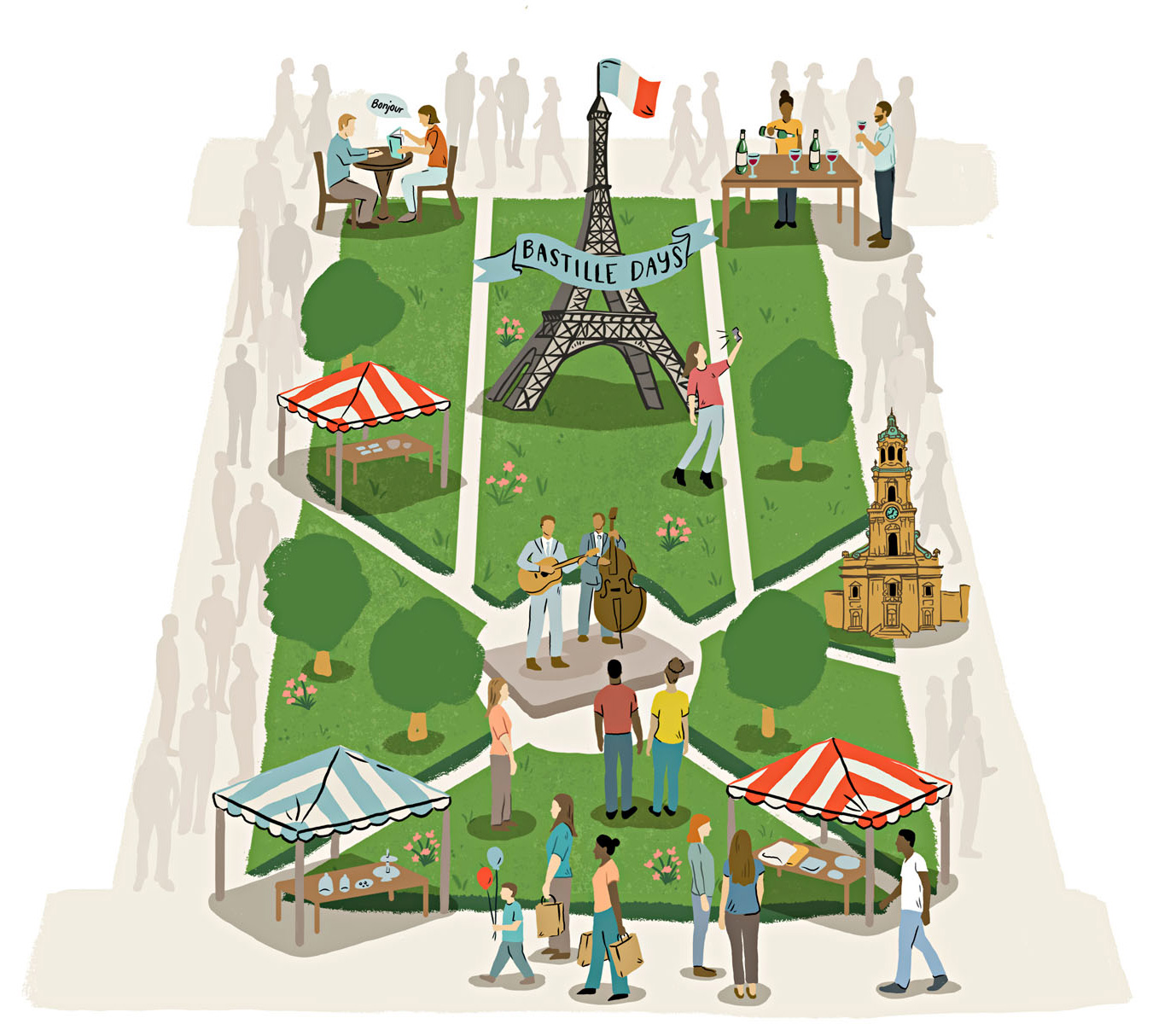 Bastille Days festival