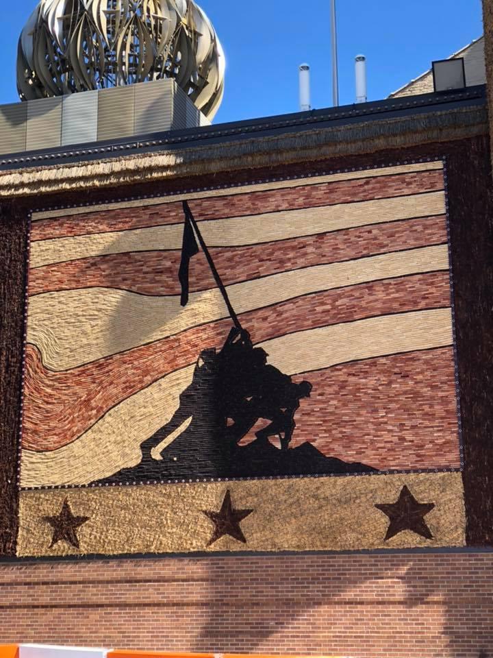 2019 Iwo Jima Mural