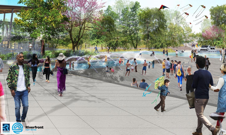 Promenade Plaza rendering