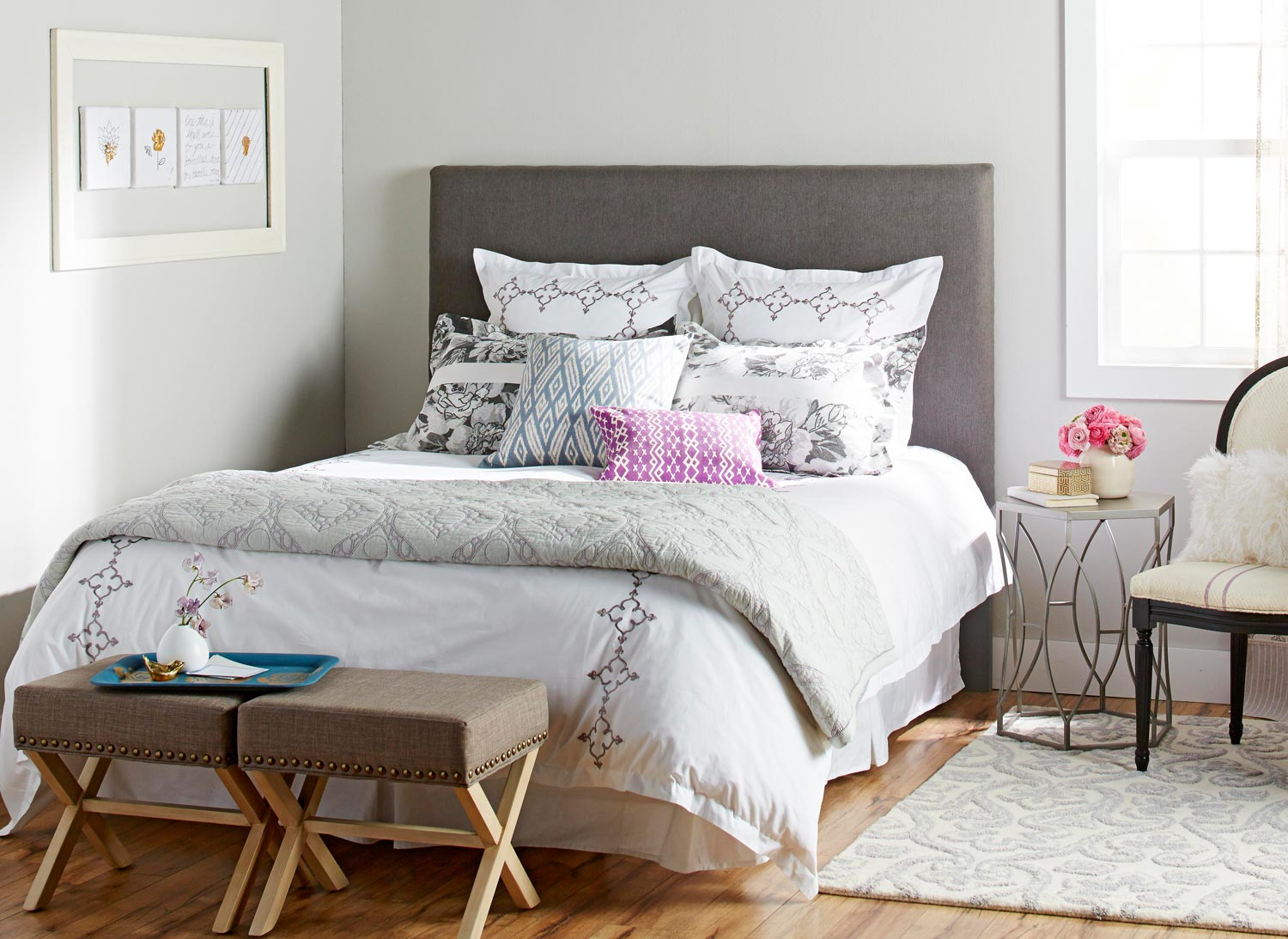 Diy Upholstered Headboards Midwest Living