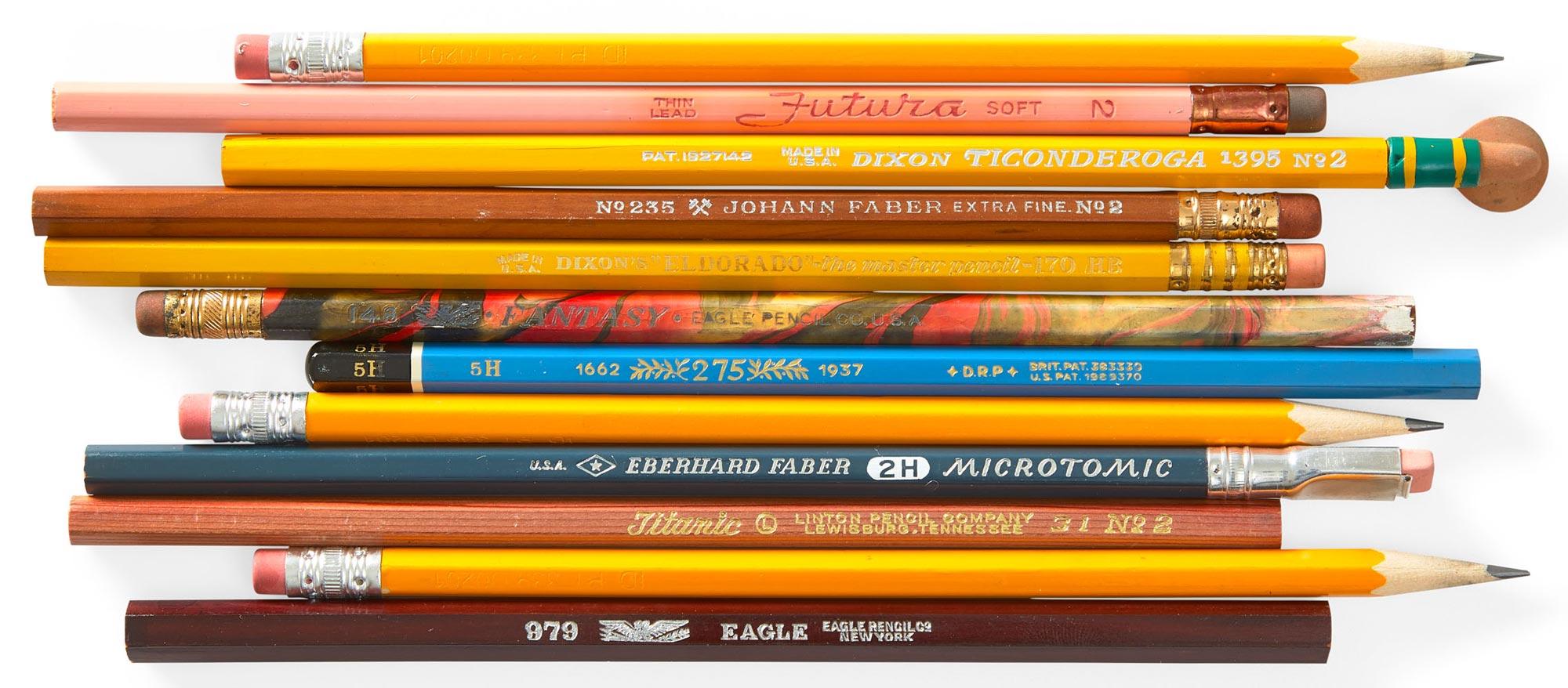 Pencillarium pencils