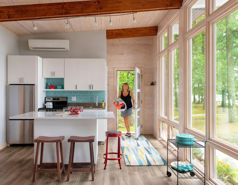 Johnson cabin kitchen