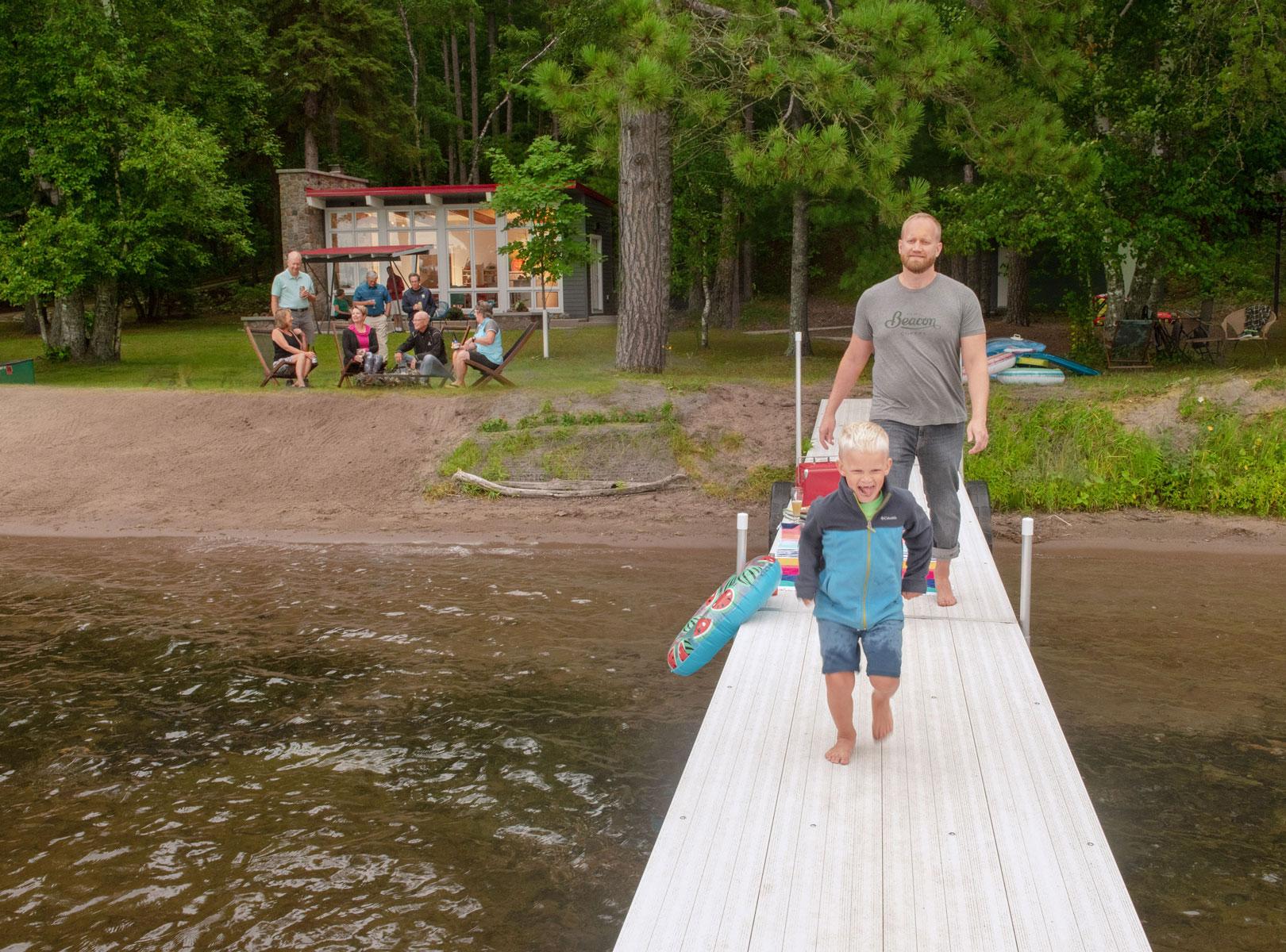 Johnson cabin dock