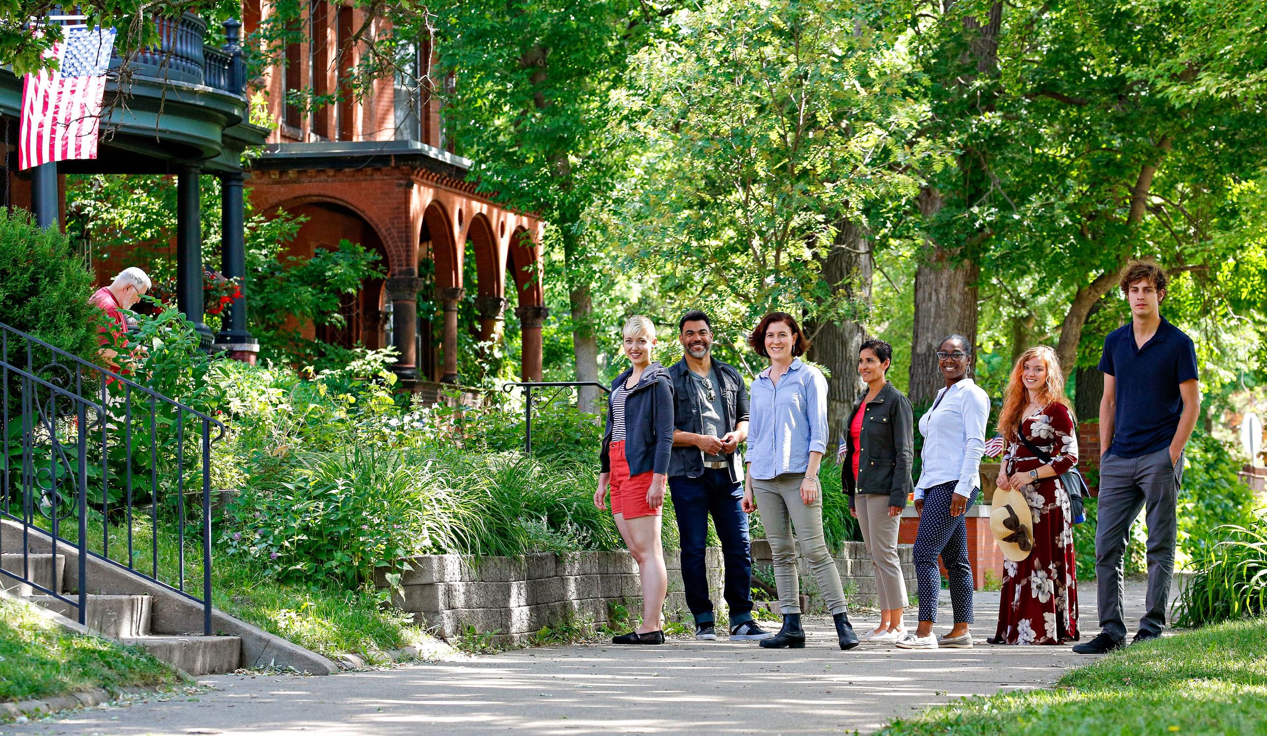 F. Scott Fitzgerald Walking Tour in Saint Paul, MN