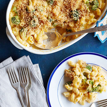 Broccoli Macaroni and Cheese