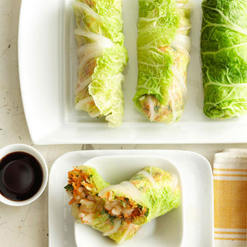 Napa Cabbage Spring Rolls
