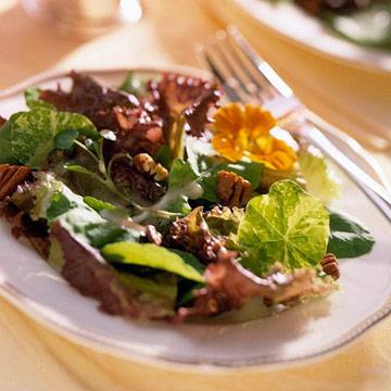 Honey-Mustard Pecan Salad