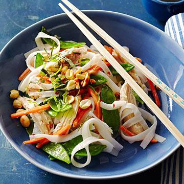 Coconut Chicken Noodle Bowl