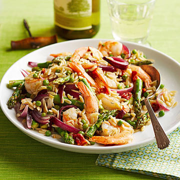 Dilled Shrimp and Orzo Bowl