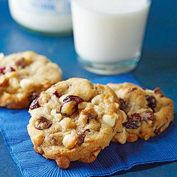 Double Chocolate-Cherry Cookies