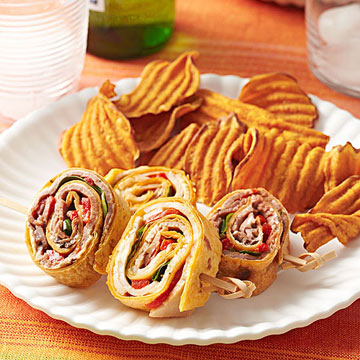 Two-for-One Stuffed Party Pinwheels