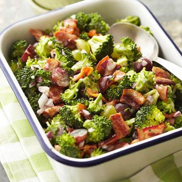 Broccoli Salad Recipe With Grapes
