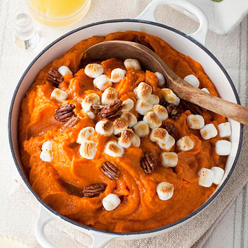 Sweet Potatoes with Toasted Pecans