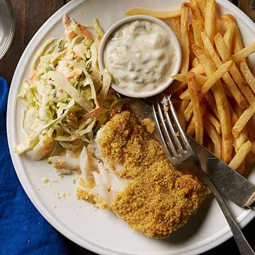 Oven-Fried Fish
