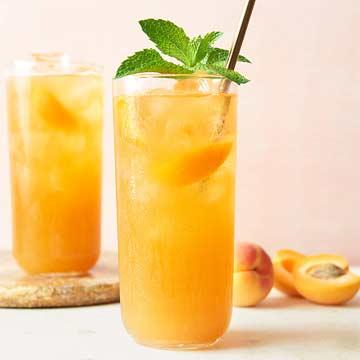 Apricot-Mint Tea