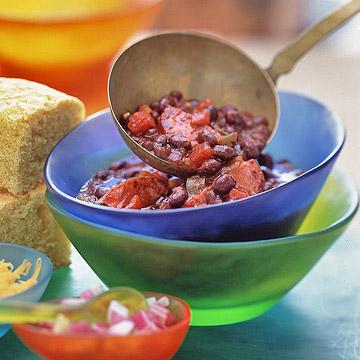 Zesty Black Bean Chili