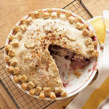 Apple-Cranberry Walnut Pie