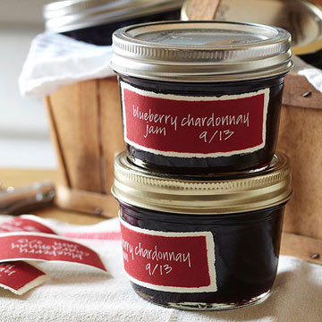 Blueberry Chardonnay Jam