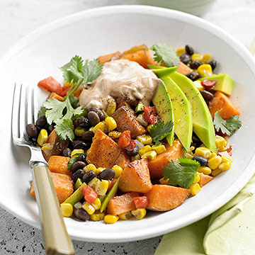 Mexican Sweet Potato-Veggie Medley