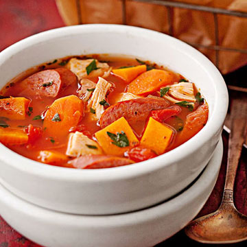 Chicken and Kielbasa Winter Stew