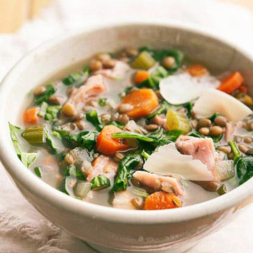 Lentil-Ham Soup