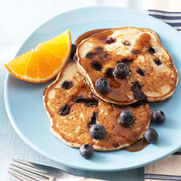 Blueberry Buckwheat Pancakes Midwest Living