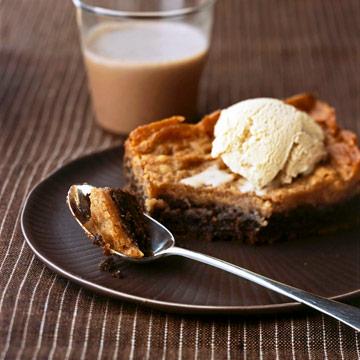 Chocolate Mocha Gooey Butter Cake
