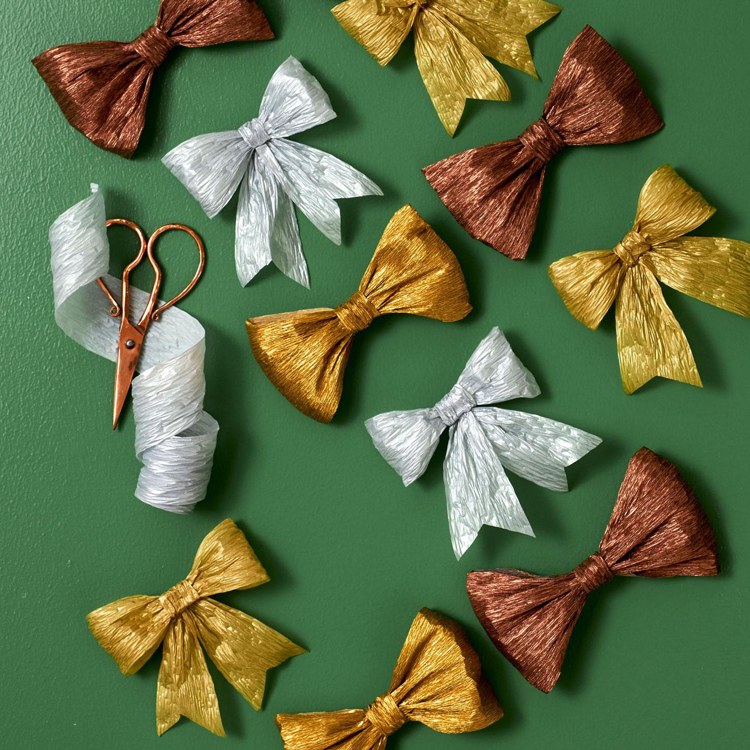 Crepe Paper Bows