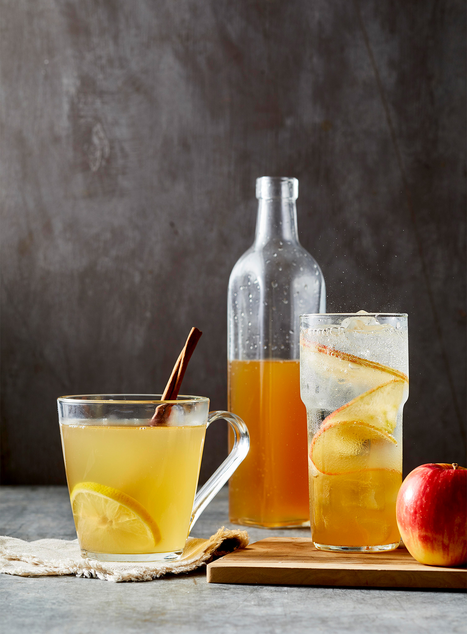 Spiced Apple Shrub