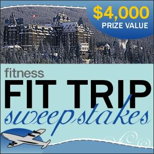 Fitness Magazine Fit Trip Sweepstakes