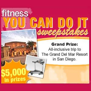 Fitness Magazine You Can Do It Sweepstakes
