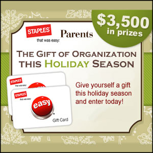 Parents Gift of Organization Sweepstakes