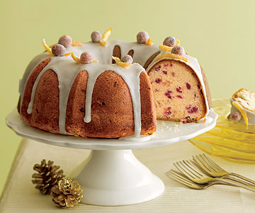 Orange-Cranberry Bundt Cake