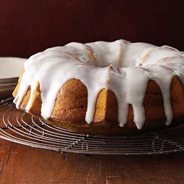 Glazed Pumpkin Bundt Cake