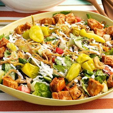 Bayou BBQ Chop Salad