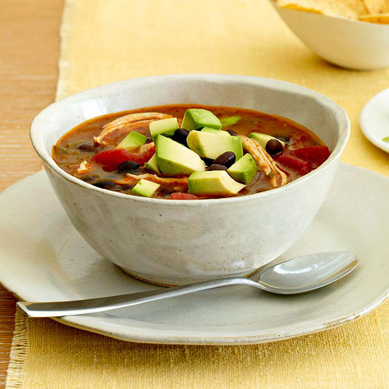 Light Tortilla Soup