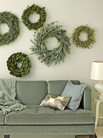 Decorating with Holiday Greenery