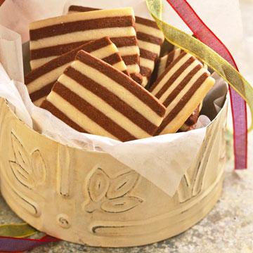 Striped Shortbread