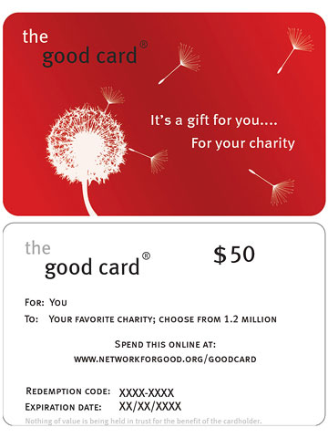 Give a Feel-Good Gift Card
