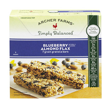 Archer Farms Simply Balanced Granola Bars