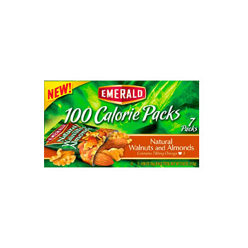 Emerald 100 Calorie Packs Natural Walnuts and Almonds