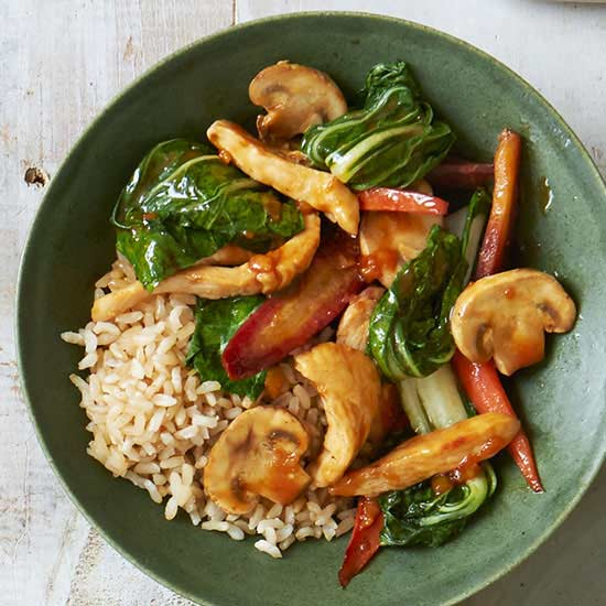 Stir-Fry with Bok Choy