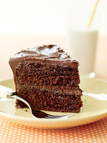 Double Fudge Layer Cake