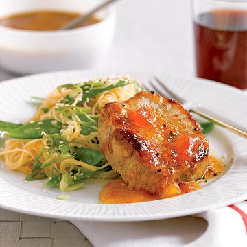 Apricot-Teriyaki Pork