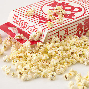 Movie popcorn -- it smells too good to resist.